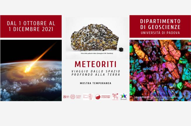 Collegamento a Meteoriti. Viaggio dallo spazio profondo alla Terra