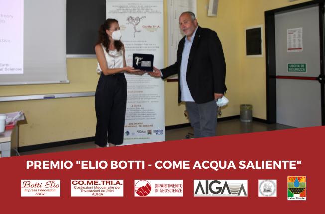 """Collegamento a Proclamata la vincitrice della XVI edizione del Premio """"Elio Botti – Come Acqua Saliente"""""""
