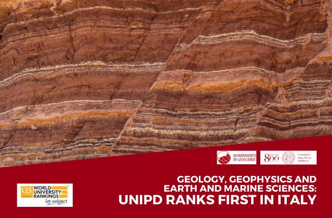 Collegamento a Geologia, Geofisica e Scienze marine e della Terra: l'Università di Padova è prima in Italia