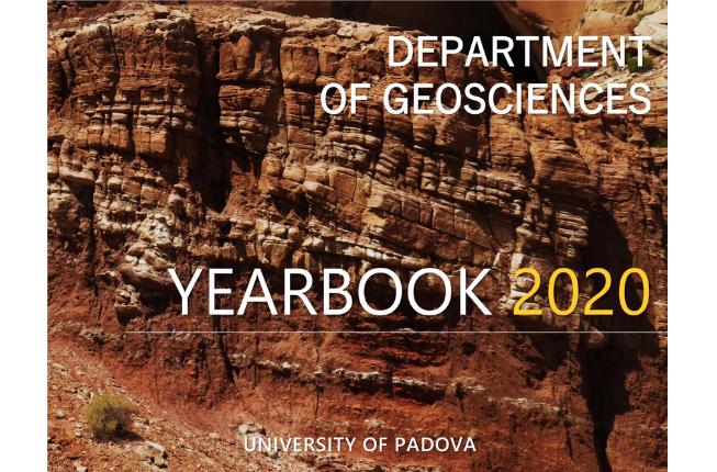 Collegamento a Yearbook 2020: è online la seconda edizione dell'annuario del Dipartimento di Geoscienze
