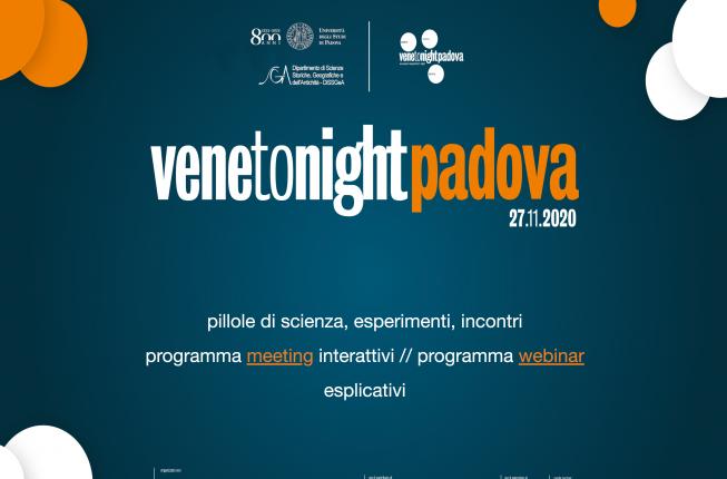 Collegamento a VenetoNight 2020 - Researchers' Night
